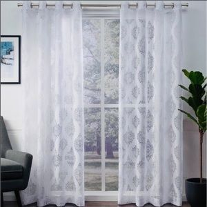 New Exclusive Home Birmingham Sheer curtains